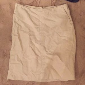 Banana republic pencil skirt size 6